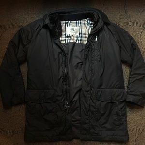 BURBERRY - Field Puff Jacket w Removable Vest, S